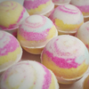 AVAILABLE AT GIRLY BITS COSMETICS www.girlybitscosmetics.com Northern Lights Fizzing Bath Snowball by SoGa Artisan Soaperie