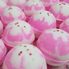 AVAILABLE AT GIRLY BITS COSMETICS www.girlybitscosmetics.com Sugar Fizzing Bath Snowball by SoGa Artisan Soaperie