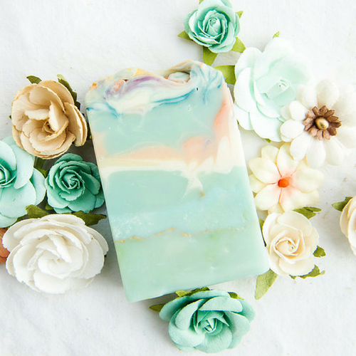 AVAILABLE AT GIRLY BITS COSMETICS www.girlybitscosmetics.com Prairie Fields Artisan Soap by SoGa Artisan Soaperie