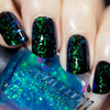 AVAILABLE AT GIRLY BITS COSMETICS www.girlybitscosmetics.com River (Doctor Who Flake Collection - Part One) by Colors by Llarowe | Swatch courtesy of @iparallaxe