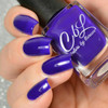 AVAILABLE AT GIRLY BITS COSMETICS www.girlybitscosmetics.com Love Me Some Blurple (Summer 2016 Collection - Cremes, Jellies and Shimmers) by Colors by Llarowe | Swatch courtesy of Delishious Nails
