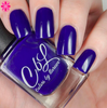 AVAILABLE AT GIRLY BITS COSMETICS www.girlybitscosmetics.com Love Me Some Blurple (Summer 2016 Collection - Cremes, Jellies and Shimmers) by Colors by Llarowe | Swatch courtesy of Cosmetic Sanctuary