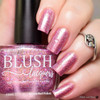 AVAILABLE AT GIRLY BITS COSMETICS www.girlybitscosmetics.com Raspberry Sorbet (Summer Soiree Collection) by BLUSH Lacquers | Photo credit: @polishandpaws