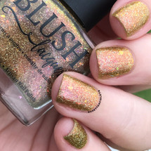 AVAILABLE AT GIRLY BITS COSMETICS www.girlybitscosmetics.com Rose Gold Garden (Summer Soiree Collection) by BLUSH Lacquers | Photo credit: @dsetterfield74
