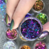 AVAILABLE AT GIRLY BITS COSMETICS www.girlybitscosmetics.com Galaxy Shattered Flakes by Mitty