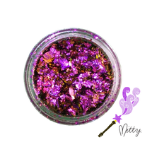 AVAILABLE AT GIRLY BITS COSMETICS www.girlybitscosmetics.com Mirage Shattered Flakes by Mitty