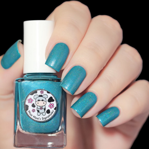 AVAILABLE AT GIRLY BITS COSMETICS www.girlybitscosmetics.com Palace In The Moon (The Legend of Moon Goddess Collection) by Moo Moo's Signatures | Swatch courtesy of @nailsannagorelova