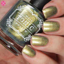 AVAILABLE AT GIRLY BITS COSMETICS www.girlybitscosmetics.com Promise of Spring (Femme Fatale X Tonic Four Seasons Collaboration) by Tonic Polish | Swatch courtesy of @cosmeticsanctuary