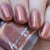 AVAILABLE AT GIRLY BITS COSMETICS www.girlybitscosmetics.com Woodland Mosaic (Femme Fatale X Tonic Four Seasons Collaboration) by Femme Fatale | Swatch courtesy of @emilydemolly