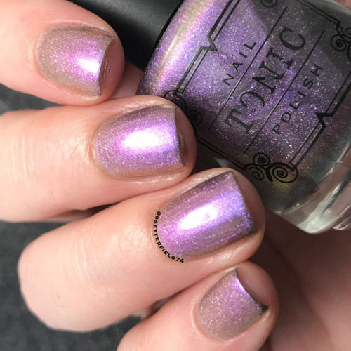 AVAILABLE AT GIRLY BITS COSMETICS www.girlybitscosmetics.com Titanium Orchid (Spring 2017 Collection) by Tonic Polish | Swatch courtesy of @dsetterfield74