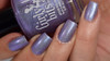 Girly Bits Cosmetics Fox Trot (Crystal's Charity Lacquers) | Swatch courtesy of Manicure Manifesto
