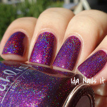 AVAILABLE AT GIRLY BITS COSMETICS www.girlybitscosmetics.com Lion Hearted Girl (The Hidden Door Collection) by Pahlish | Swatch  provided by Ida Nails It