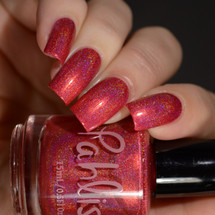 AVAILABLE AT GIRLY BITS COSMETICS www.girlybitscosmetics.com Ember (Summer Escapes Collection) by Pahlish | Swatch  provided by Delishious Nails