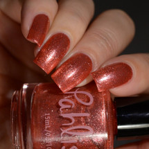 AVAILABLE AT GIRLY BITS COSMETICS www.girlybitscosmetics.com The Peach Truck (June 2017 Collection) by Pahlish | Swatch  provided by Delishious Nails