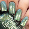GIRLY BITS COSMETICS Chrysalis (Polish Pickup September 2017)  | Swatch courtesy of Nail Experiments