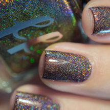 AVAILABLE AT GIRLY BITS COSMETICS www.girlybitscosmetics.com Bear from the Animal Lovers Trio with iLaeti by Femme Fatale | Swatch courtesy of iLaeti
