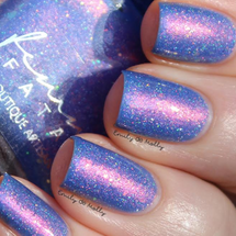 AVAILABLE AT GIRLY BITS COSMETICS www.girlybitscosmetics.com Get Her Out of Me! (Neon Demon Collection) by Femme Fatale | Swatch courtesy of Emily de Molly