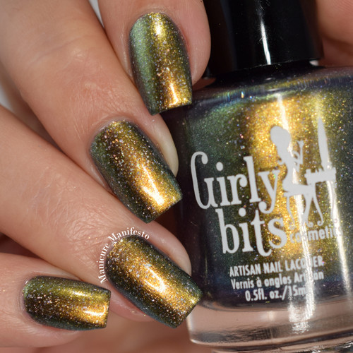 What the EL? - A Polish Con Chicago 2017 LE by Girly Bits | Swatch by Manicure Manifesto