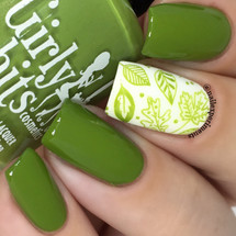 GIRLY BITS COSMETICS It's Near Leaf All (Fall 2017 Collection) | Swatch courtesy of Nail Experiments