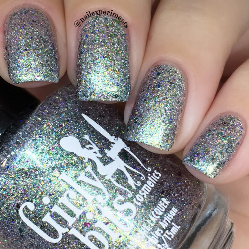 GIRLY BITS COSMETICS Aussie What You Did There (Girly Bits/Femme Fatale Collaboration) | Swatch courtesy of Nail Experiments