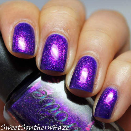AVAILABLE AT GIRLY BITS COSMETICS www.girlybitscosmetics.com Connie, You Saucy Minx (The Shimmers Collection) by Colors by Llarowe | Swatch courtesy of Sweet Southern Haze