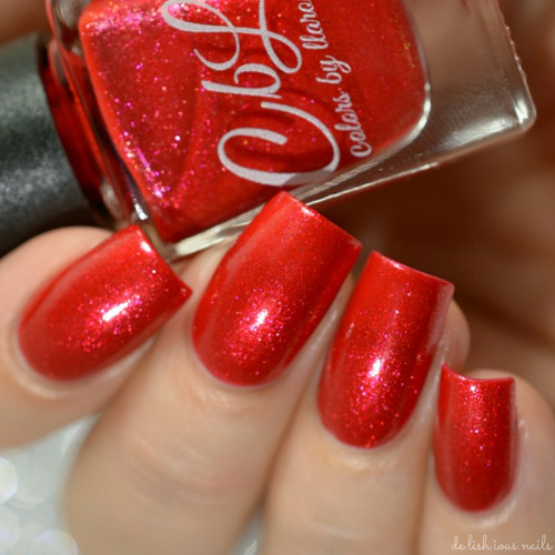 AVAILABLE AT GIRLY BITS COSMETICS www.girlybitscosmetics.com Ornamental (Holiday 2016 Collection) by Colors by Llarowe | Swatch courtesy of Delishious Nails