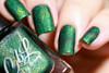 AVAILABLE AT GIRLY BITS COSMETICS www.girlybitscosmetics.com Pine Boughs (Holiday 2016 Collection) by Colors by Llarowe | Swatch courtesy of Fashion Polish