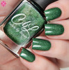 AVAILABLE AT GIRLY BITS COSMETICS www.girlybitscosmetics.com Pine Boughs (Holiday 2016 Collection) by Colors by Llarowe | Swatch courtesy of Cosmetic Sanctuary
