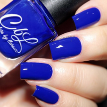 AVAILABLE AT GIRLY BITS COSMETICS www.girlybitscosmetics.com Ain't Nobody Leavin' Til We Sing the Blues (Spring 2016 - Creme and Shimmers Collection) by Colors by Llarowe | Swatch courtesy of Fashion Polish
