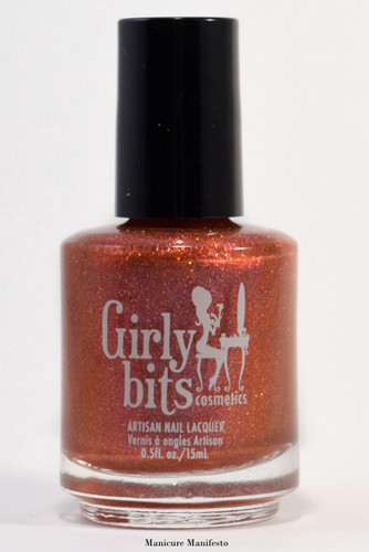 Girly Bits Cosmetics No Pumpkin Way (October 2017 CoTM) | photo by Manicure Manifesto
