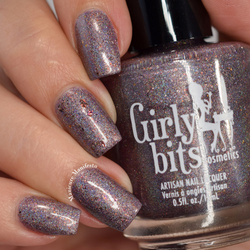 Girly Bits Cosmetics Slay, Ghoul, Slay (October 2017 CoTM) |  Swatch by Manicure Manifesto
