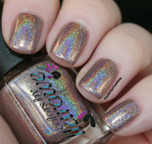 AVAILABLE AT GIRLY BITS COSMETICS www.girlybitscosmetics.com Blonde Ambition - Summer 2014 (The Holos Collection) by Colors by Llarowe | Swatch courtesy of The Girlie Tomboy