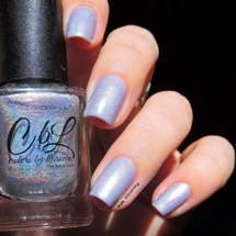 AVAILABLE AT GIRLY BITS COSMETICS www.girlybitscosmetics.com Leather and Lace (The Holos Collection) by Colors by Llarowe   Swatch courtesy of penombre_NPA