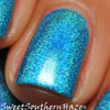 AVAILABLE AT GIRLY BITS COSMETICS www.girlybitscosmetics.com Young Turks (The Holos Collection) by Colors by Llarowe | Swatch courtesy of Sweet Southern Haze