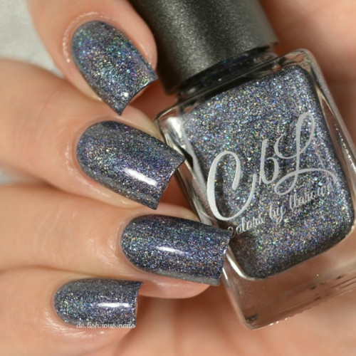 AVAILABLE AT GIRLY BITS COSMETICS www.girlybitscosmetics.com Empty Heart (The Journey Collection) by Colors by Llarowe | Swatch courtesy of Delishious Nails