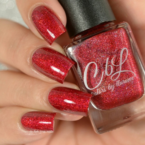 AVAILABLE AT GIRLY BITS COSMETICS www.girlybitscosmetics.com Dance With the Devil (The Journey Collection) by Colors by Llarowe | Swatch courtesy of Delishious Nails
