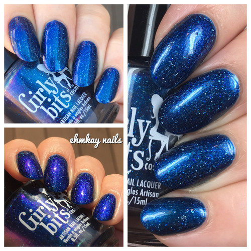 GIRLY BITS COSMETICS Wait For It (Polish Pickup November 2017)  | Swatch courtesy of  Ehmkay Nails and Designs