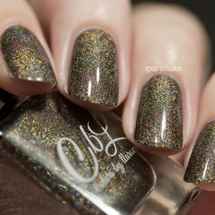 AVAILABLE AT GIRLY BITS COSMETICS www.girlybitscosmetics.com 'shroom With a View (Winter 2015 Collection) by Colors by Llarowe | Swatch courtesy of iparallaxe