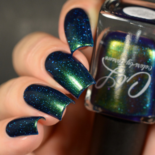 AVAILABLE AT GIRLY BITS COSMETICS www.girlybitscosmetics.com Parade of Lights (Winter 2017 Collection) by Colors by Llarowe | Swatch courtesy of Delishious Nails