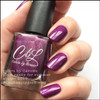 AVAILABLE AT GIRLY BITS COSMETICS www.girlybitscosmetics.com Plum Ready for Summer (Winter 2017 Collection) by Colors by Llarowe | Swatch courtesy of IG @manigeek