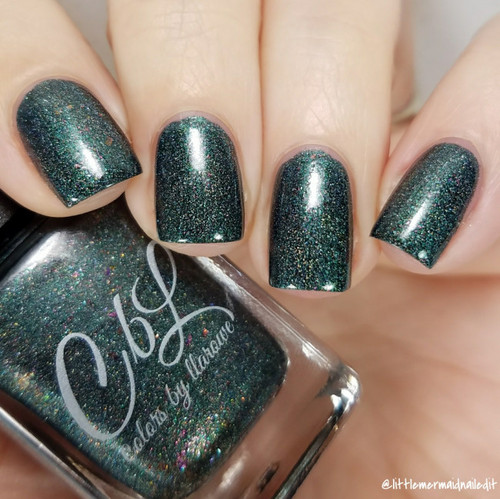 AVAILABLE AT GIRLY BITS COSMETICS www.girlybitscosmetics.com CbL PoTM - Nov 2017 - Fall Y'all by Colors by Llarowe | Swatch courtesy of @littlemermaidnailedit