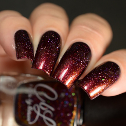 AVAILABLE AT GIRLY BITS COSMETICS www.girlybitscosmetics.com #Texasproud (CbL Cares Collection) by Colors by Llarowe | Swatch courtesy of Delishious Nails