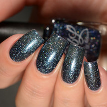 AVAILABLE AT GIRLY BITS COSMETICS www.girlybitscosmetics.com Stars At Night Are Big And Bright - LE - The Indie Shop San Antonio 2017 by Colors by Llarowe | Swatch courtesy of Delishious Nails