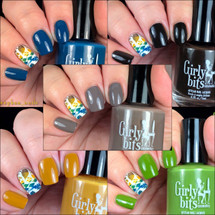 GIRLY BITS COSMETICS Fall 2017 Collection Part 1 ( 5 pcs) | Photo courtesy of HoneyBee_Nails
