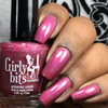 GIRLY BITS COSMETICS Cran-bury the Hatchet (Nov 2017 CoTM) | Swatch courtesy of Queen of Nails 83