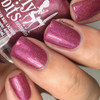 GIRLY BITS COSMETICS Cran-bury the Hatchet (Nov 2017 CoTM) | Swatch courtesy of The Dot Couture