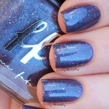 AVAILABLE AT GIRLY BITS COSMETICS www.girlybitscosmetics.com Through Time & Space (Oops Collection) by Femme Fatale | Swatch courtesy of Emily de Molly