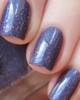 AVAILABLE AT GIRLY BITS COSMETICS www.girlybitscosmetics.com Through Time & Space (Oops Collection) by Femme Fatale   Swatch courtesy of Emily de Molly