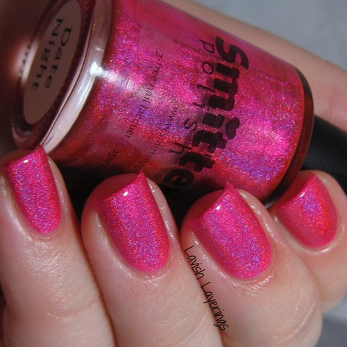 AVAILABLE AT GIRLY BITS COSMETICS www.girlybitscosmetics.com Date Night (Valentine's Day 2015 Collection) by Dreamland Lacquer | Photo credit: Lavish Layerings