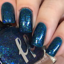 AVAILABLE AT GIRLY BITS COSMETICS www.girlybitscosmetics.com Rainbow Fish - Girly Bits Shop Exclusive by Femme Fatale | Swatch courtesy of Nail Experiments